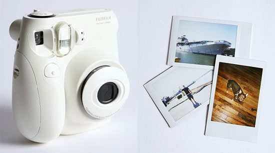 White Fuji Instax Mini 7S