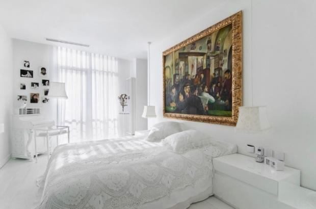pebble-design bedroom